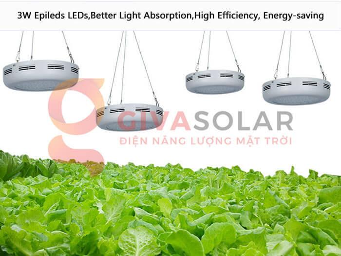 Đèn led trồng cây UFO 60 x 3W 5