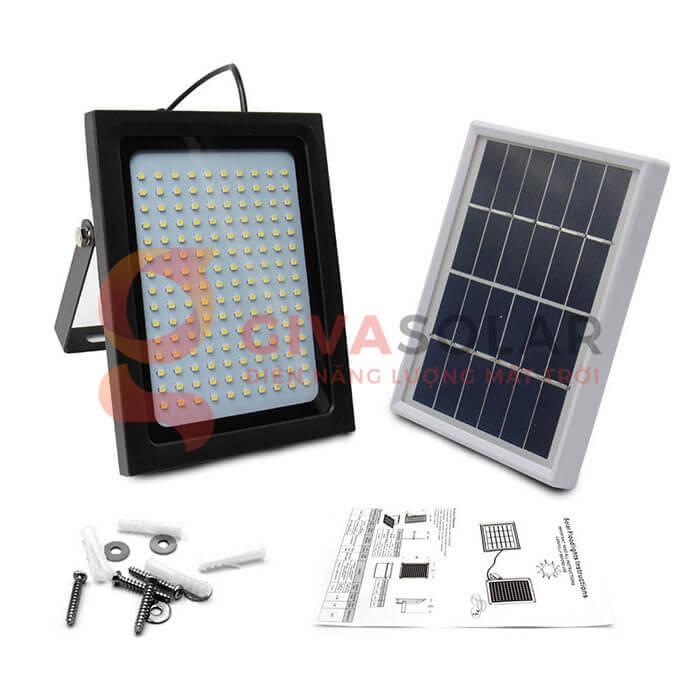 Đèn pha Led năng lượng mặt trời GV-120 1