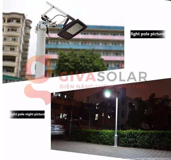 Đèn pha Led năng lượng mặt trời GV-120 8