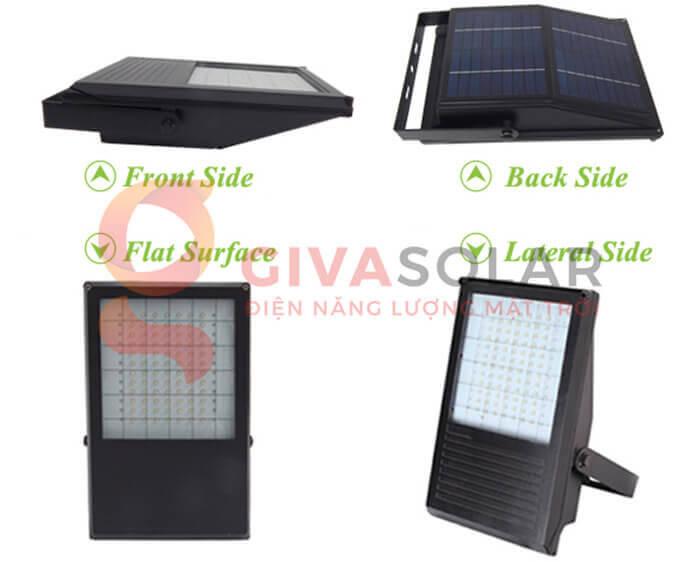Đèn LED pha năng lượng mặt trời GV-PB001 7