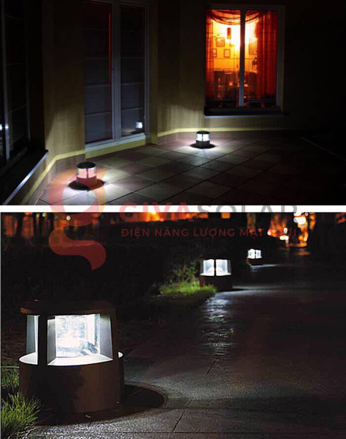 Đèn sân vườn năng lượng mặt trời GV-CP46 3