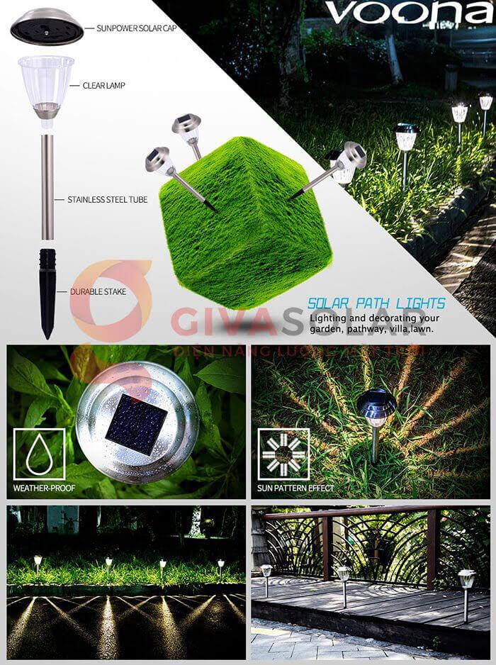 Đèn trang trí sân vườn GV-20 1