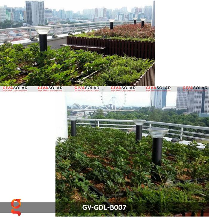 Đèn trụ năng lượng mặt trời sân vườn GV-GDL-B007 2