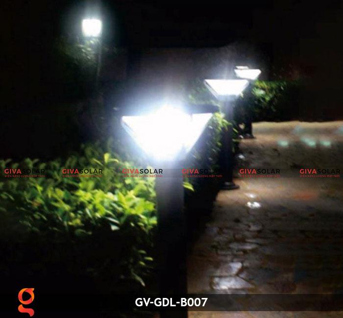 Đèn trụ năng lượng mặt trời sân vườn GV-GDL-B007 4