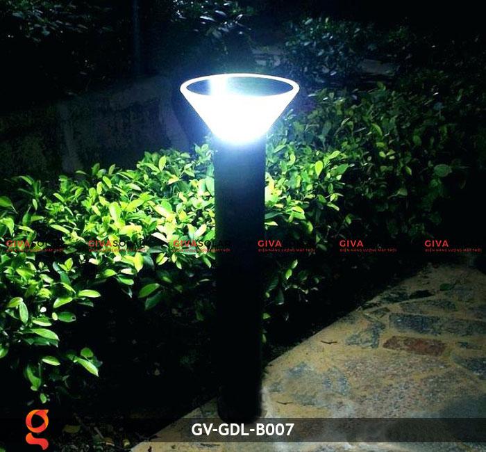 Đèn trụ năng lượng mặt trời sân vườn GV-GDL-B007 5