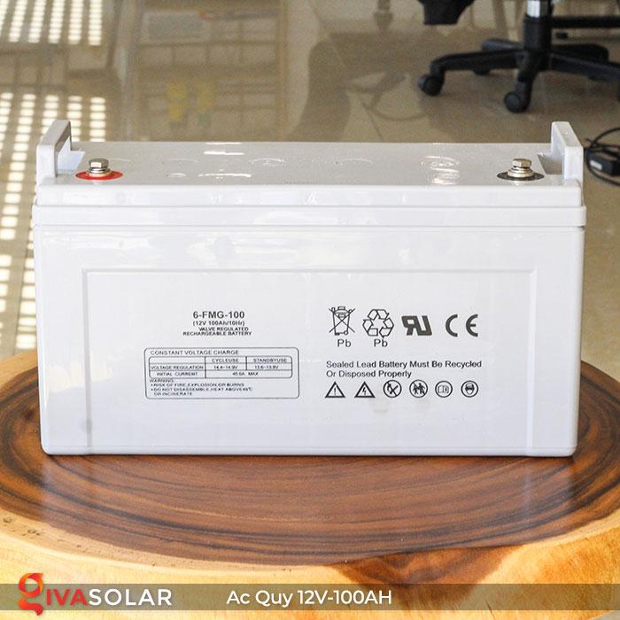 Ắc quy dùng cho hệ thống năng lượng mặt trời 12V100Ah 3