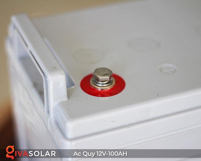Ắc quy dùng cho hệ thống năng lượng mặt trời 12V100Ah 4