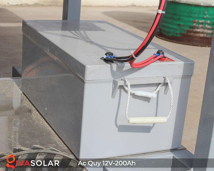Acquy cho hệ thống điện năng lượng mặt trời 12V200Ah 2