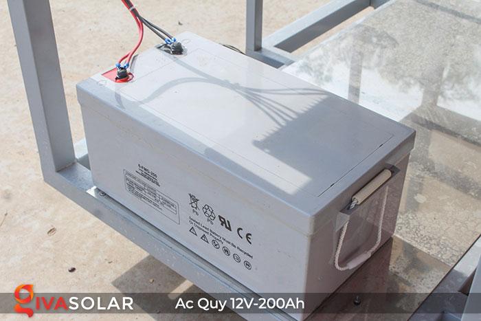 Acquy cho hệ thống điện năng lượng mặt trời 12V200Ah 3