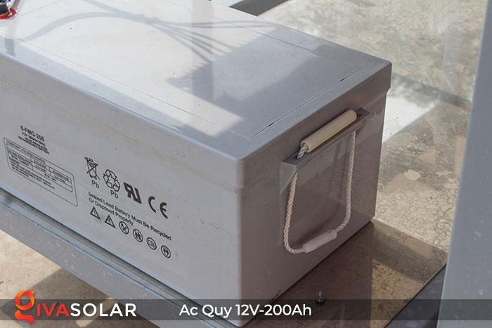 Acquy cho hệ thống điện năng lượng mặt trời 12V200Ah 6