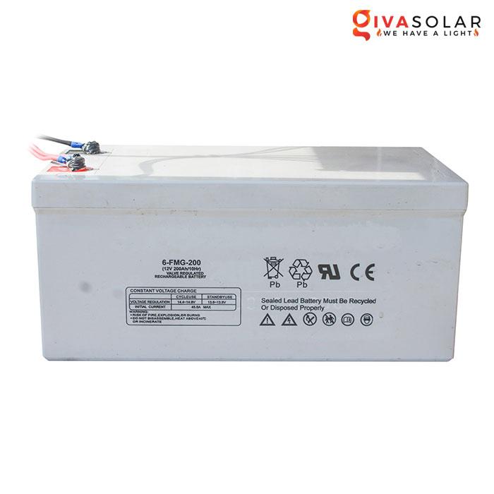 Acquy cho hệ thống điện năng lượng mặt trời 12V200Ah
