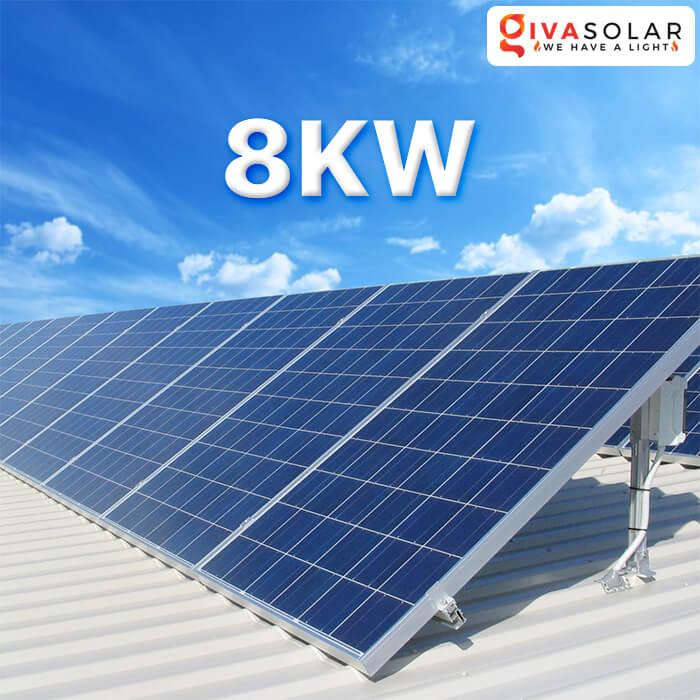 Lắp đặt hệ thống năng lượng mặt trời 8KW