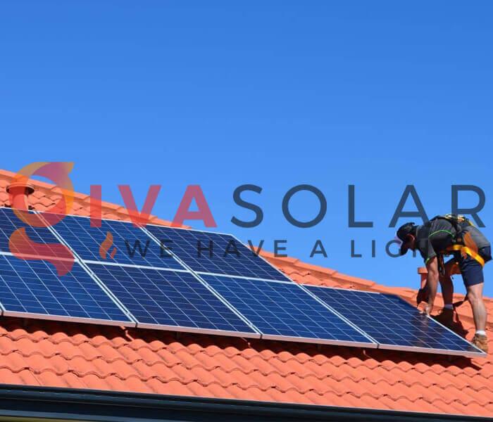 Dễ cài đặt của năng lượng mặt trời