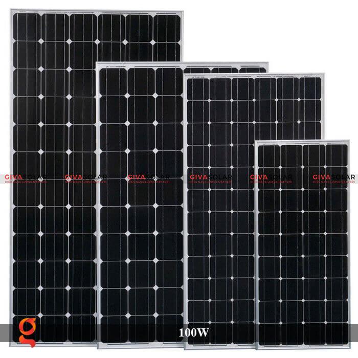 Tấm pin năng lượng mặt trời GV Mono 100W 3