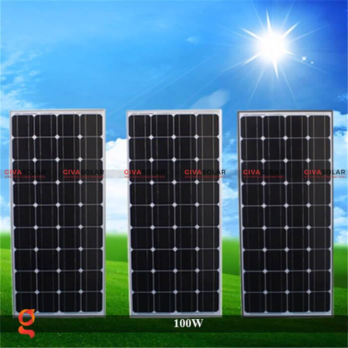 Tấm pin năng lượng mặt trời GV Mono 100W 5