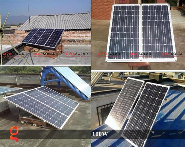 Tấm pin năng lượng mặt trời GV Mono 100W 6