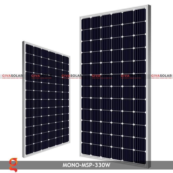 Tấm pin năng lượng mặt trời GV Mono MSP 330W 1