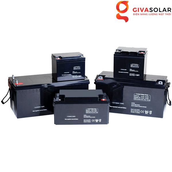 Cách chọn ắc-quy cho hệ thống năng lượng mặt trời