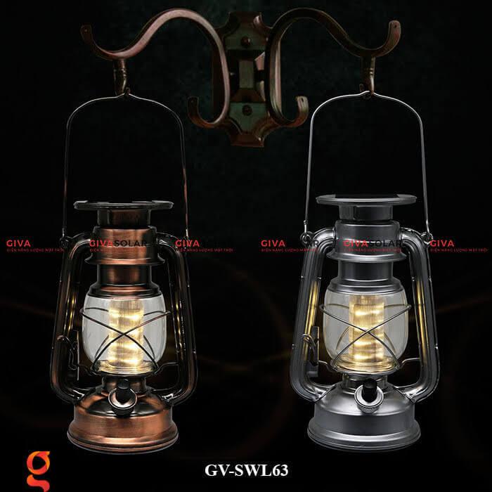 Đèn dầu cổ trang trí năng lượng mặt trời GV-SWL63 2