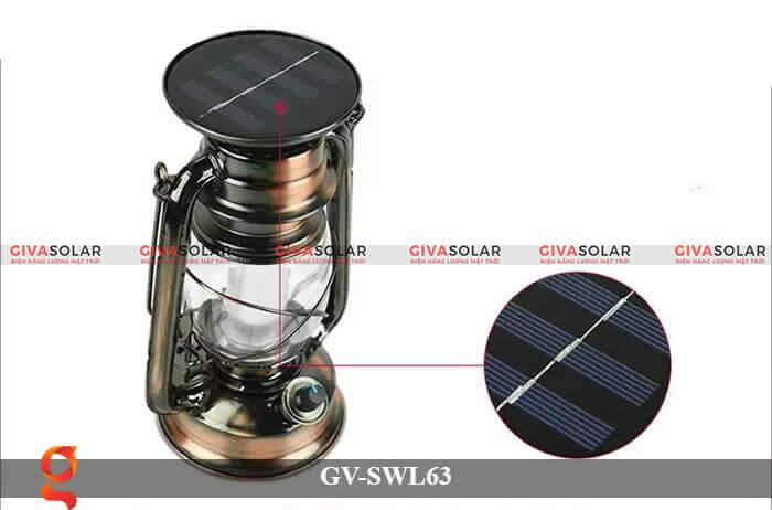 Đèn dầu cổ trang trí năng lượng mặt trời GV-SWL63 5
