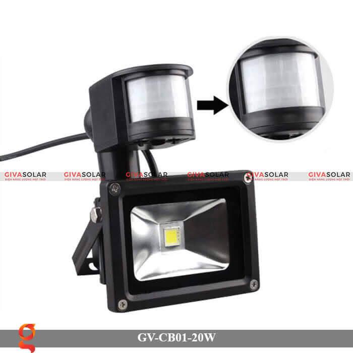 Đèn led cảm biến chuyển động GV-CB01-20W 1