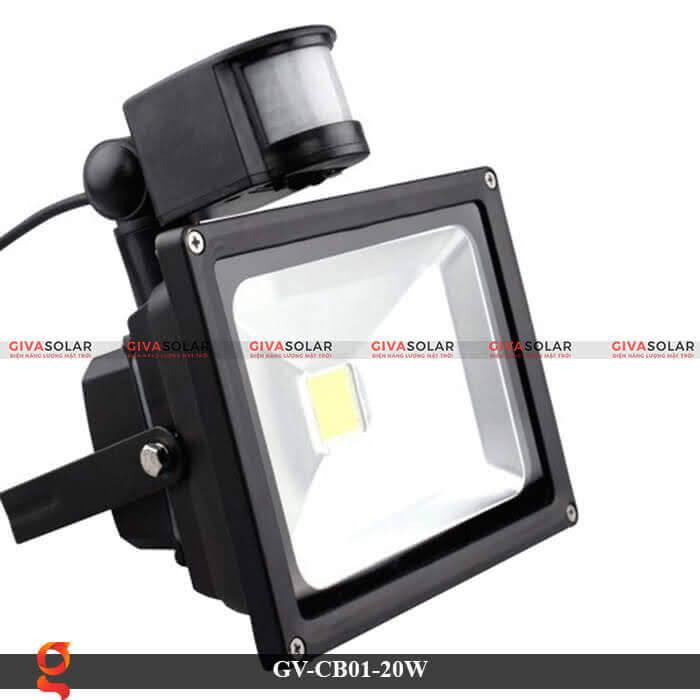 Đèn led cảm biến chuyển động GV-CB01-20W 2