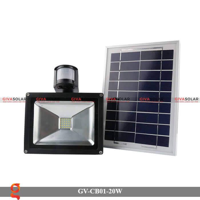 Đèn led cảm biến chuyển động GV-CB01-20W 3