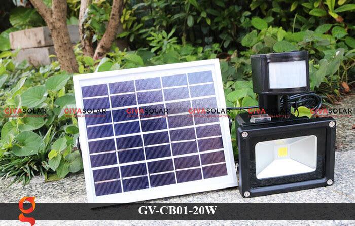 Đèn led cảm biến chuyển động GV-CB01-20W 7