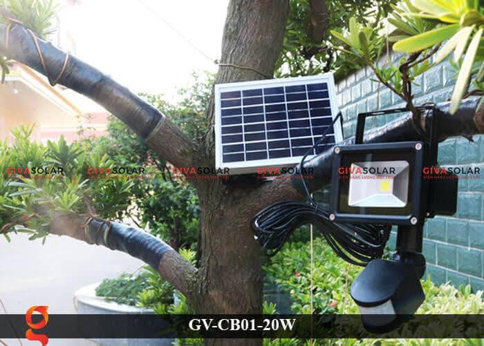 Đèn led cảm biến chuyển động GV-CB01-20W 8