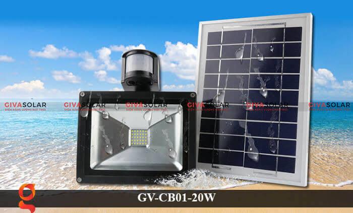 Đèn led cảm biến chuyển động GV-CB01-20W 9