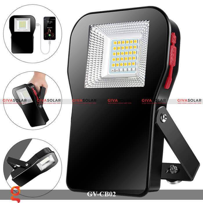 Đèn led đa năng cầm tay GV-CB02 5