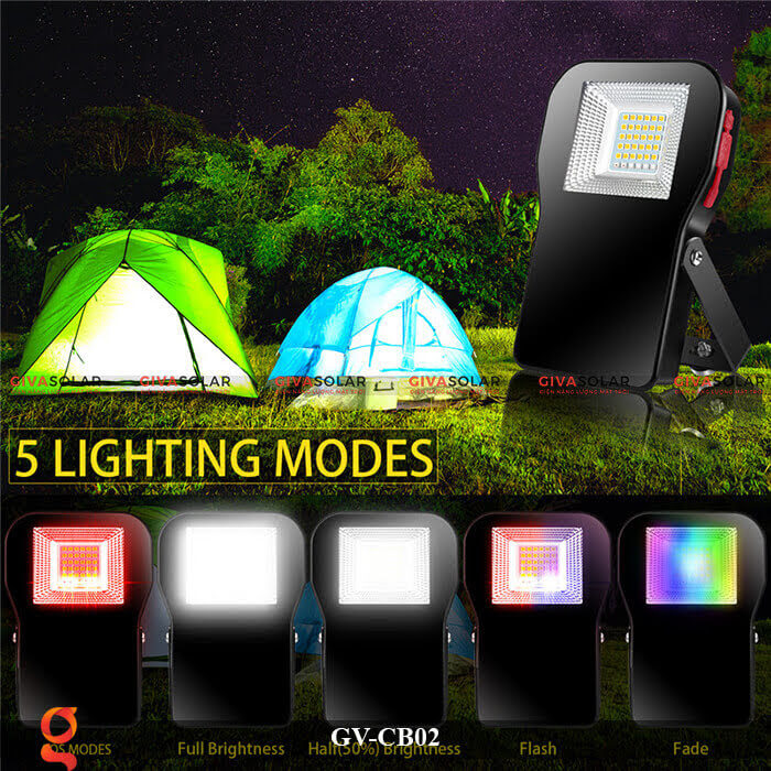Đèn led đa năng cầm tay GV-CB02 9