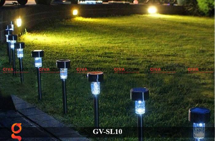Đèn led sân vườn năng lượng mặt trời GV-SL10 11