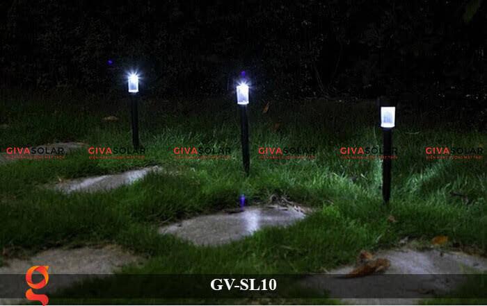 Đèn led sân vườn năng lượng mặt trời GV-SL10 9