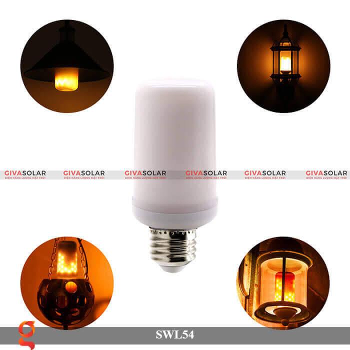 Đèn led trang trí tạo hình ngọn lửa GV-SWL54 1