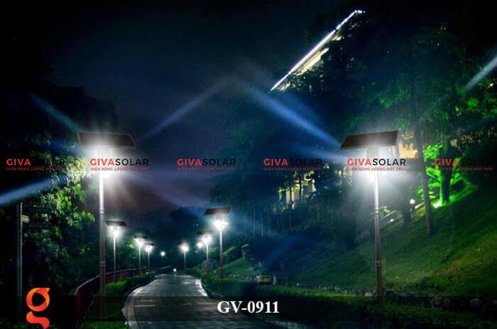 Đèn led treo tường năng lượng mặt trời GV-0911 11