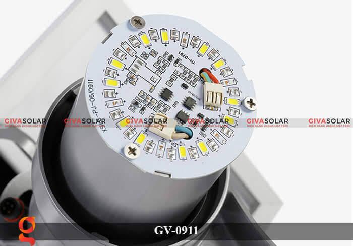 Đèn led treo tường năng lượng mặt trời GV-0911 14