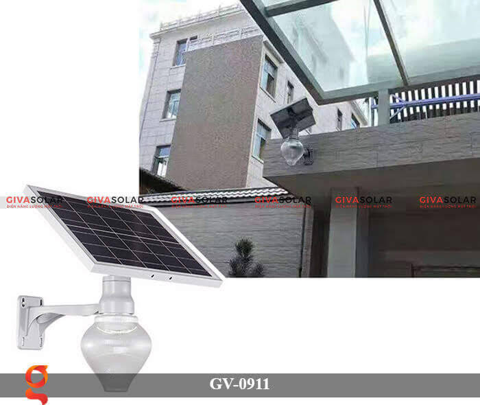Đèn led treo tường năng lượng mặt trời GV-0911 2