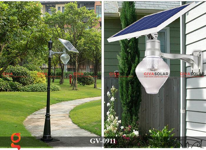 Đèn led treo tường năng lượng mặt trời GV-0911 5