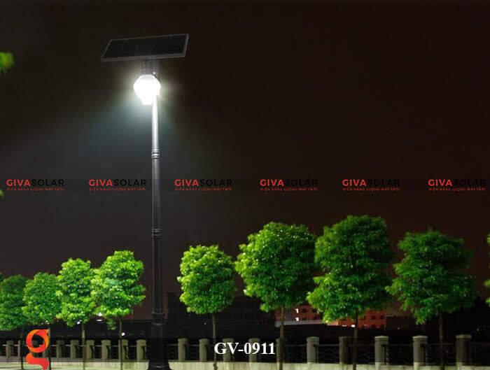 Đèn led treo tường năng lượng mặt trời GV-0911 8