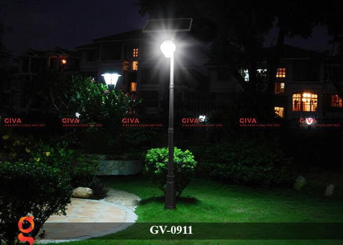 Đèn led treo tường năng lượng mặt trời GV-0911 9