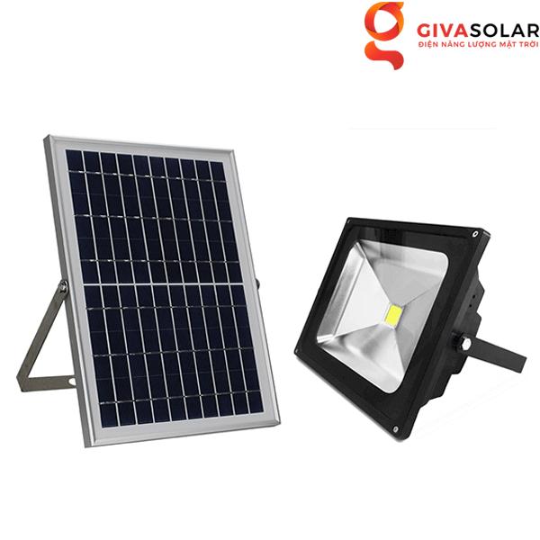 Đèn pha cảm biến ánh sáng sử dụng năng lượng mặt trời GV-SF