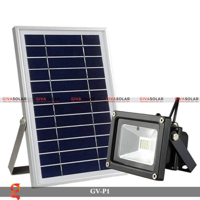 Đèn pha chiếu sáng năng lượng mặt trời GV-P1 1