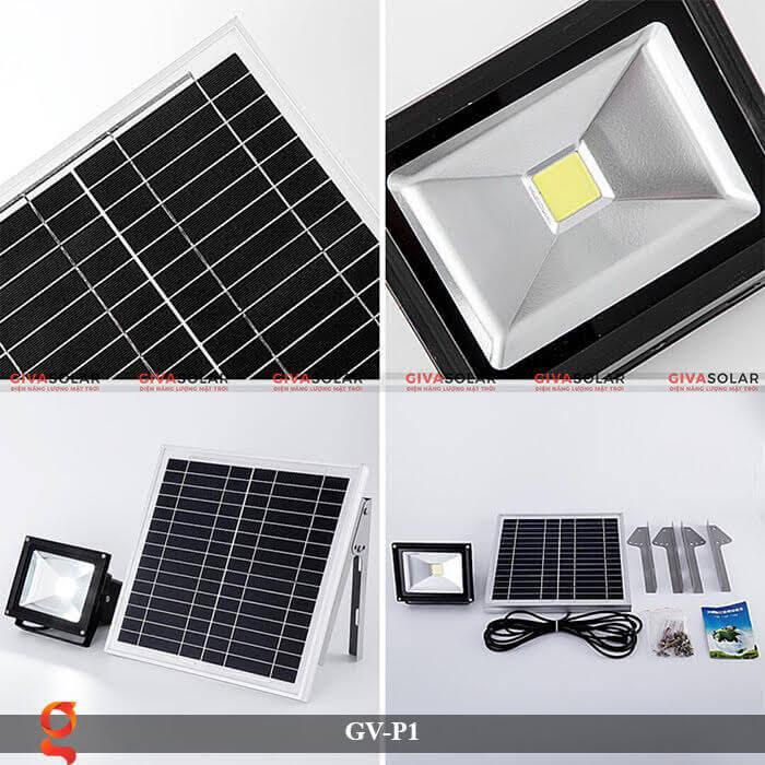 Đèn pha chiếu sáng năng lượng mặt trời GV-P1 4