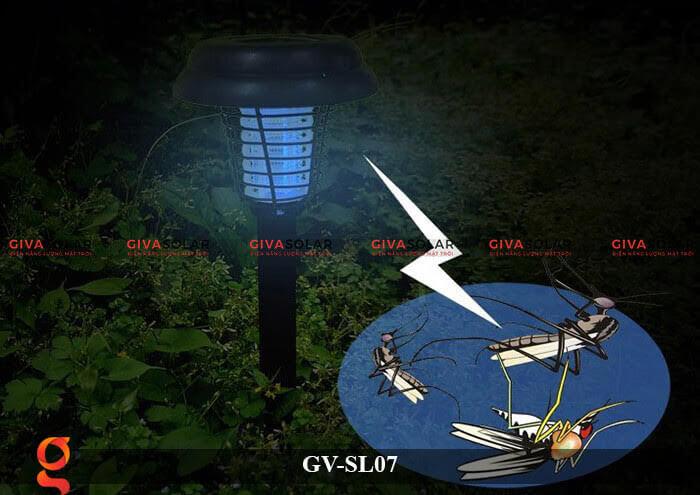 Đèn trang trí năng lượng mặt trời GV-SL07 Bẫy muỗi 5