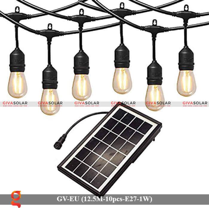 Dây đèn led trang trí sử dụng năng lượng mặt trời GV-EU-NLMT 1