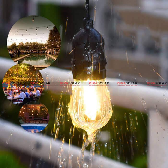 Dây đèn led trang trí sử dụng năng lượng mặt trời GV-EU-NLMT 6
