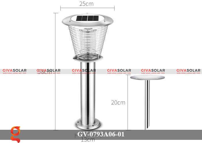 Đèn bắt muỗi năng lượng mặt trời GV-0793A06-01 15