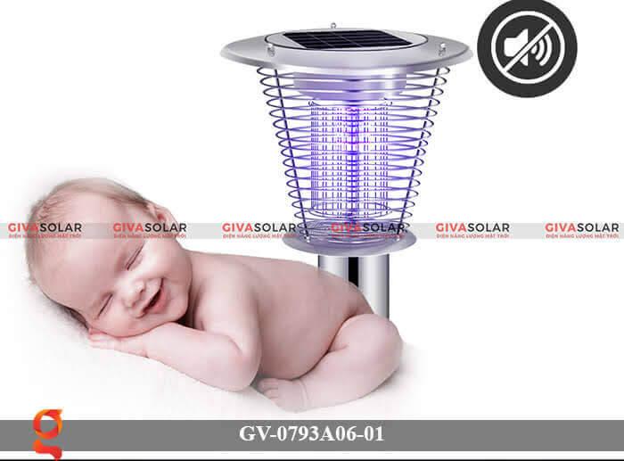 Đèn bắt muỗi năng lượng mặt trời GV-0793A06-01 2