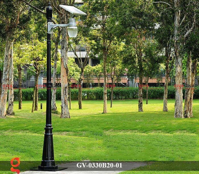 Đèn chiếu sáng đường năng lượng mặt trời GV-0330B20-01 13